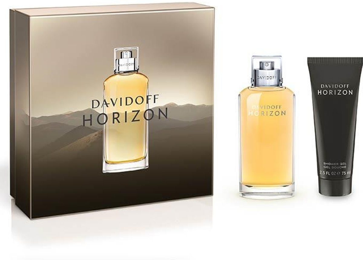 Davidoff horizon edt 75 ml spray + showergel 75 ml