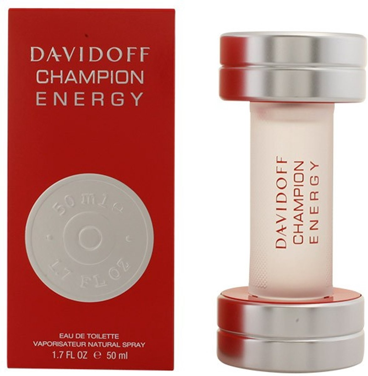 MULTI BUNDEL 2 stuks CHAMPION ENERGY eau de toilette spray 50 ml