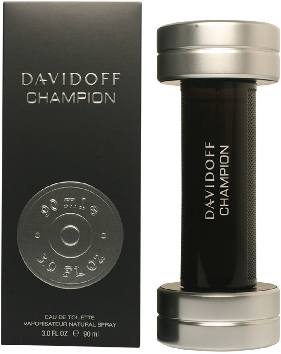 MULTI BUNDEL 2 stuks CHAMPION eau de toilette spray 90 ml