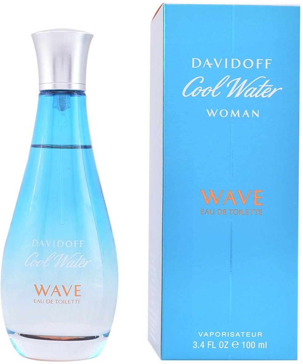 MULTI BUNDEL 2 stuks COOL WATER WAVE Eau de Toilette Spray 100 ml
