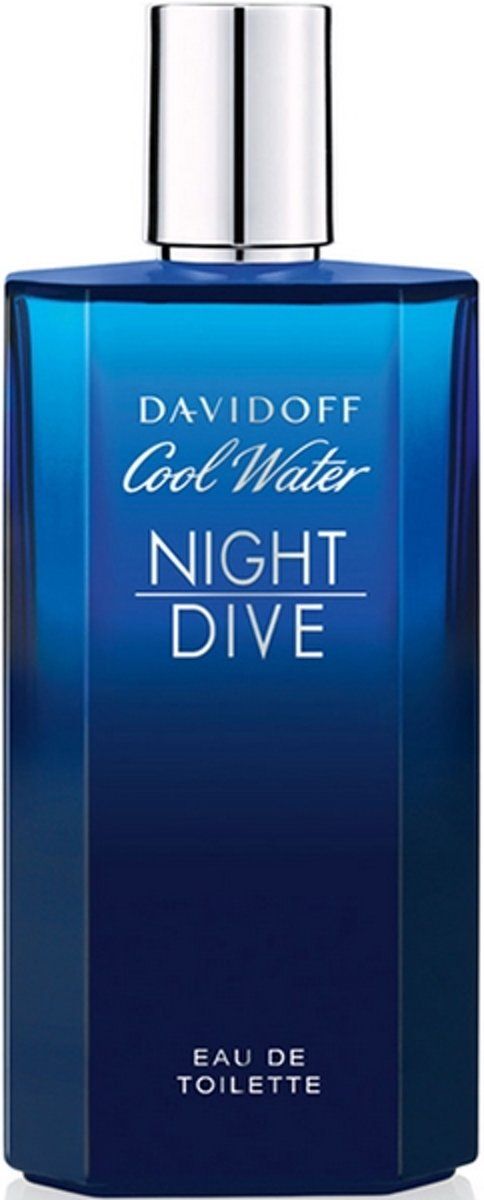 MULTI BUNDEL 2 stuks Davidoff Cool Water Night Dive Eau De Toilette Spray 125ml