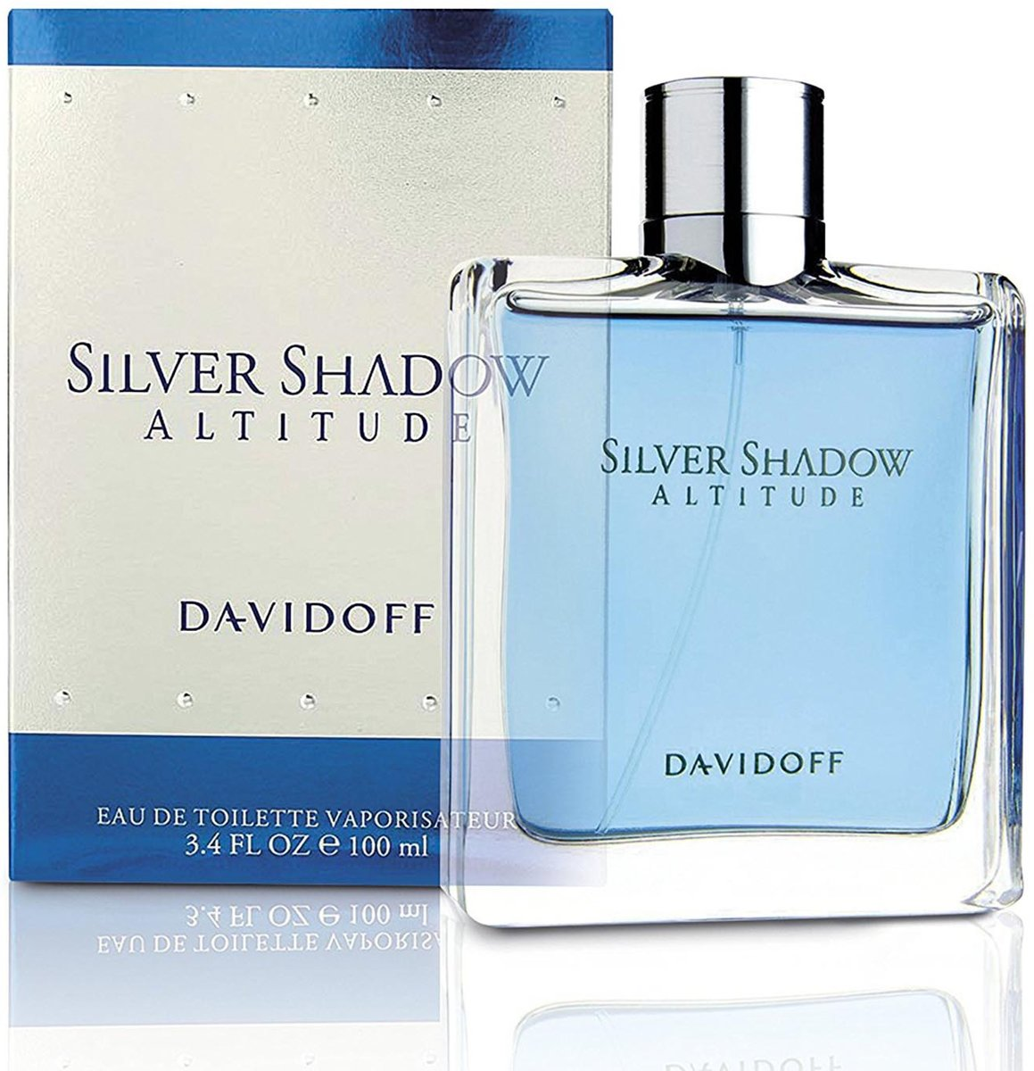 MULTI BUNDEL 2 stuks Davidoff Silver Shadow Altitude Eau De Toilette Spray 100ml