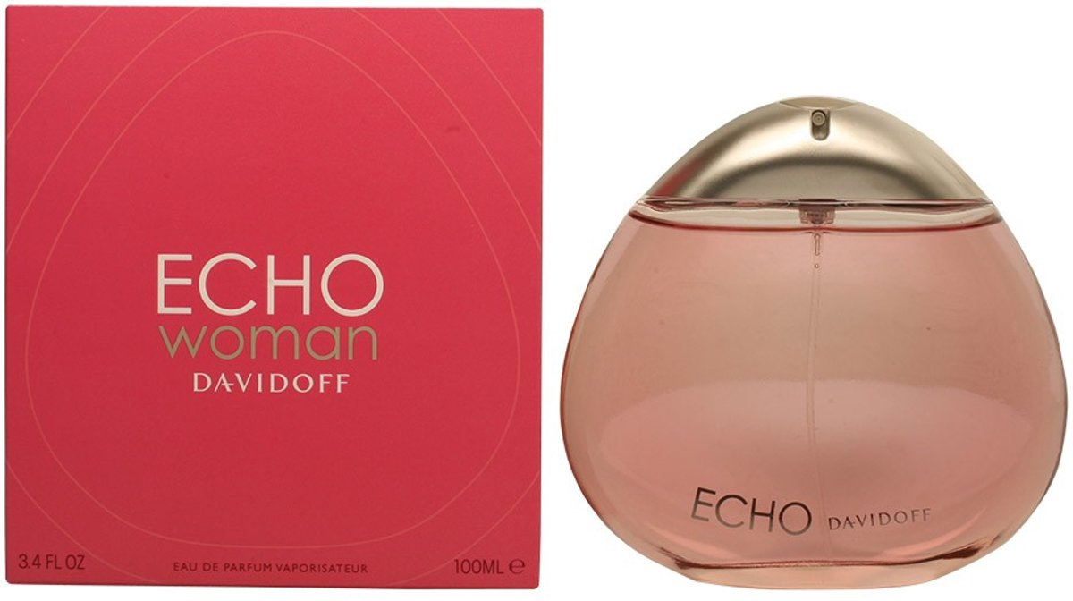 MULTI BUNDEL 2 stuks ECHO WOMAN eau de parfum spray 100 ml