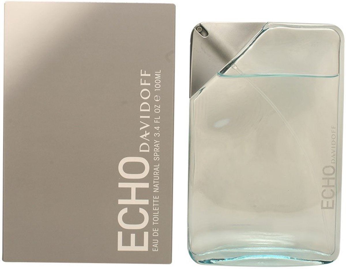 MULTI BUNDEL 2 stuks ECHO eau de toilette spray 100 ml