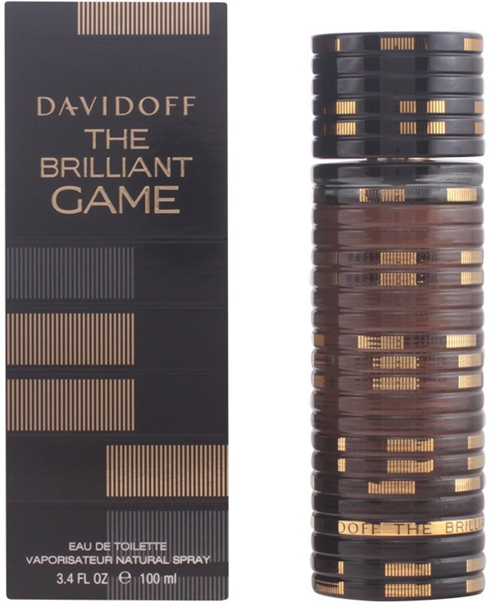 MULTI BUNDEL 2 stuks THE BRILLIANT GAME Eau de Toilette Spray 100 ml