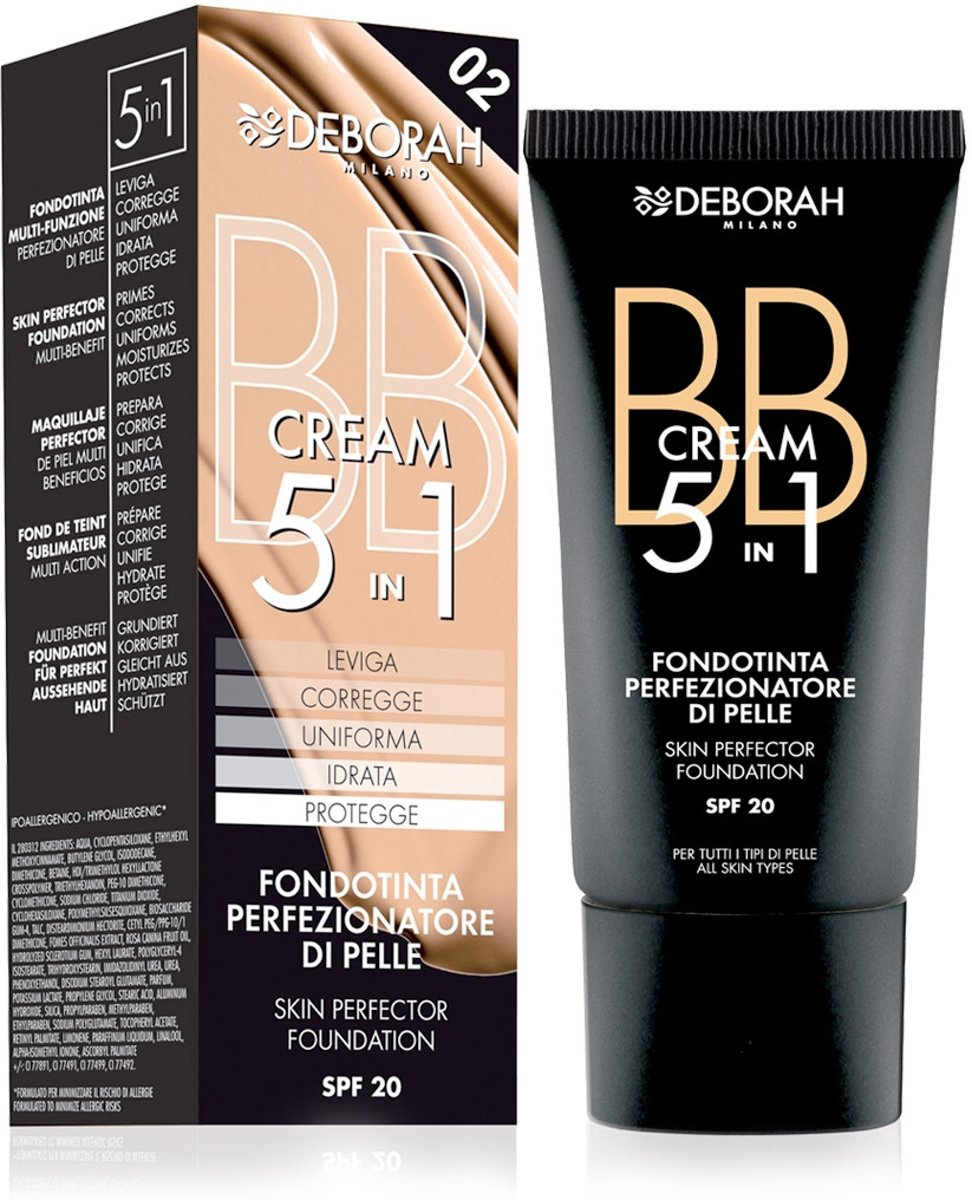 Deborah Milano BB Cream 02 Beige - Foundation