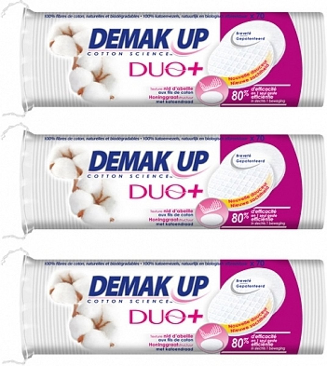 Demak Up Duo+ Rond 3x70 st