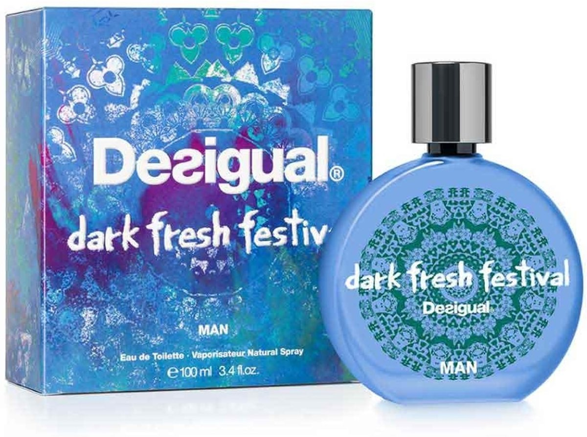 Desigual DARK FRESH FESTIVAL edt spray 100 ml