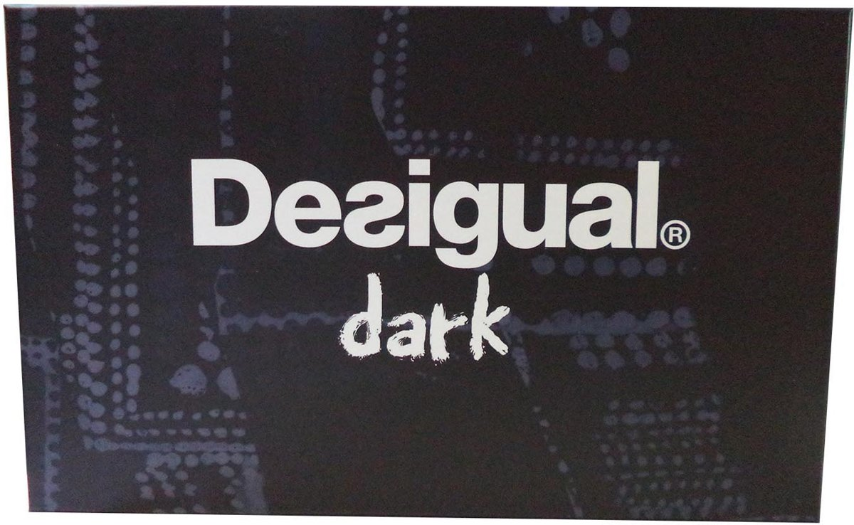 Desigual dark eau de toilette 100ml spray + miniatuur 15ml