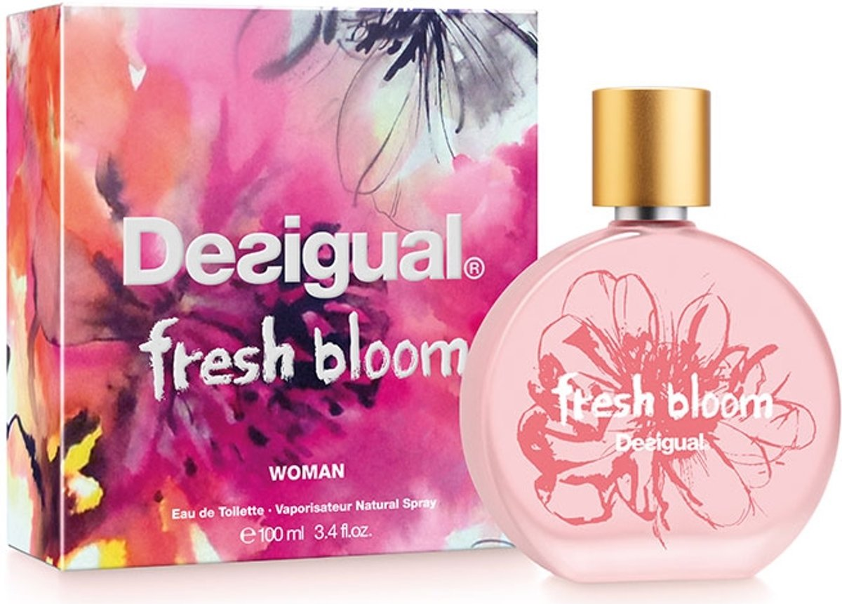 Desigual fresh bloom edt 100 ml spray