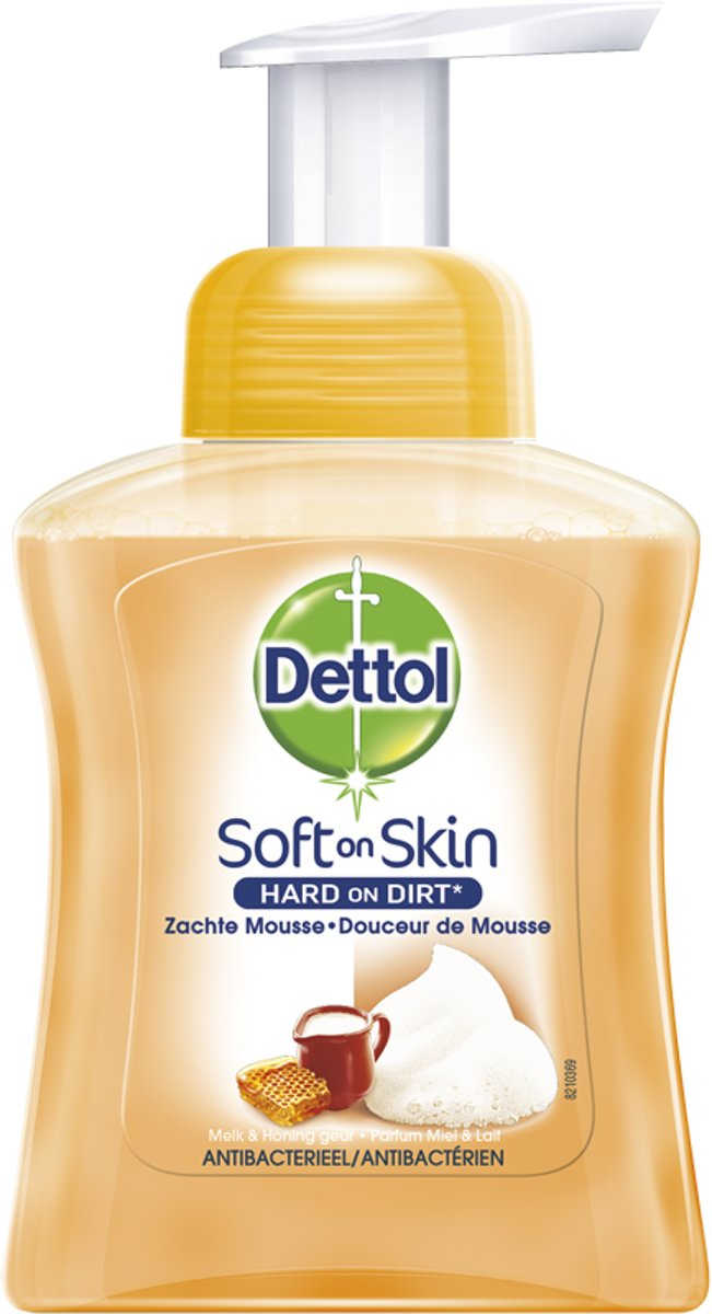 Dettol Touch of Foam Handzeep Melk & Honing - 250 ml