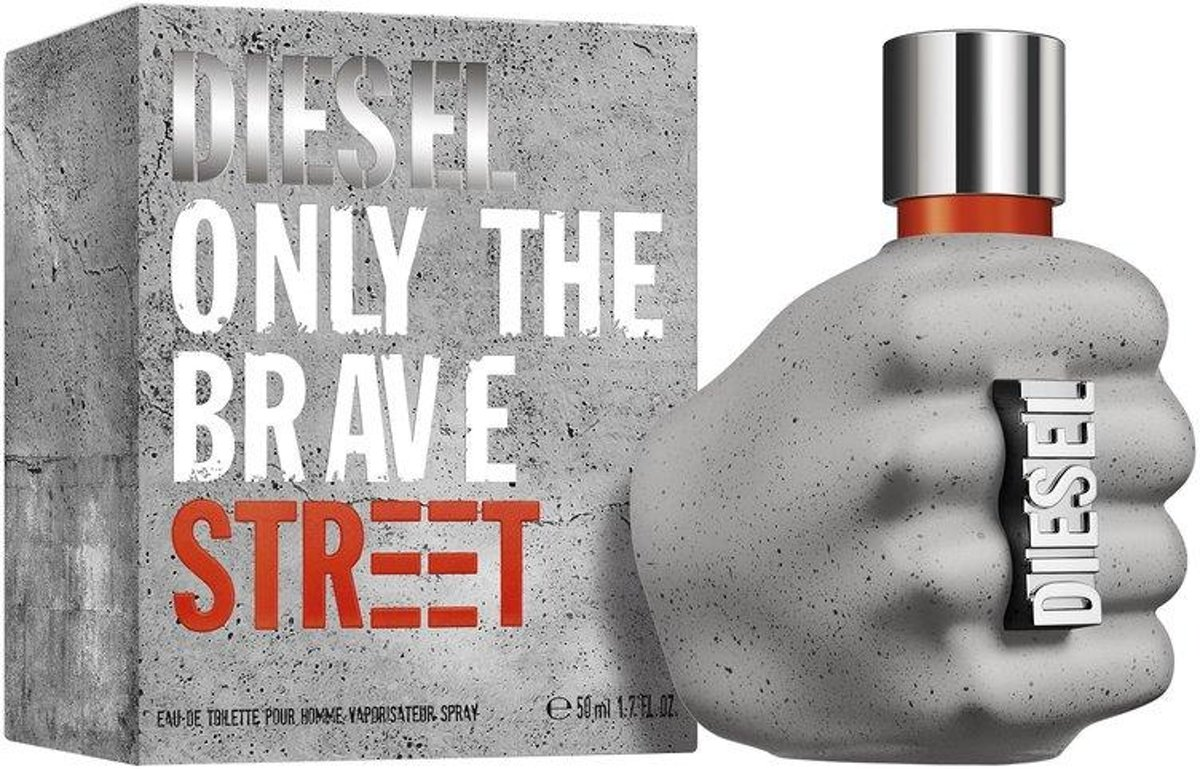 Diesel Only The Brave Street - 50ml - Eau de toilette