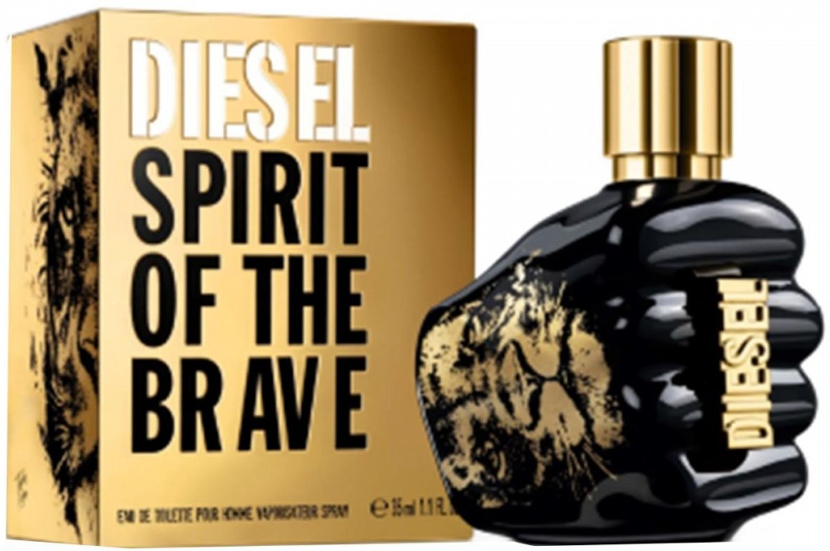 Diesel spirit of the brave eau de toilette pour homme 35ml spray