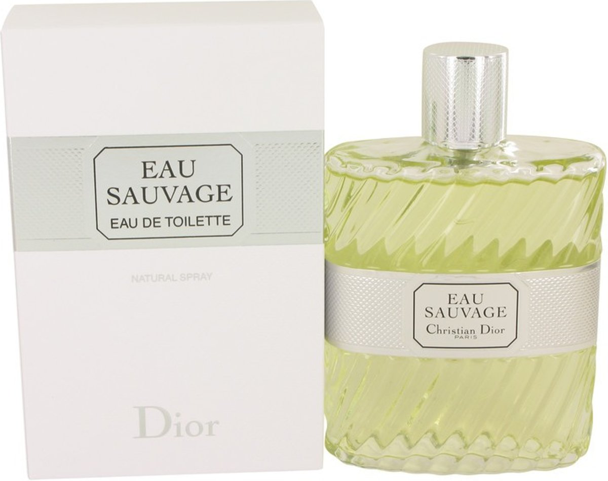 Christian Dior Eau Sauvage 200 ml - Eau De Toilette Spray Men