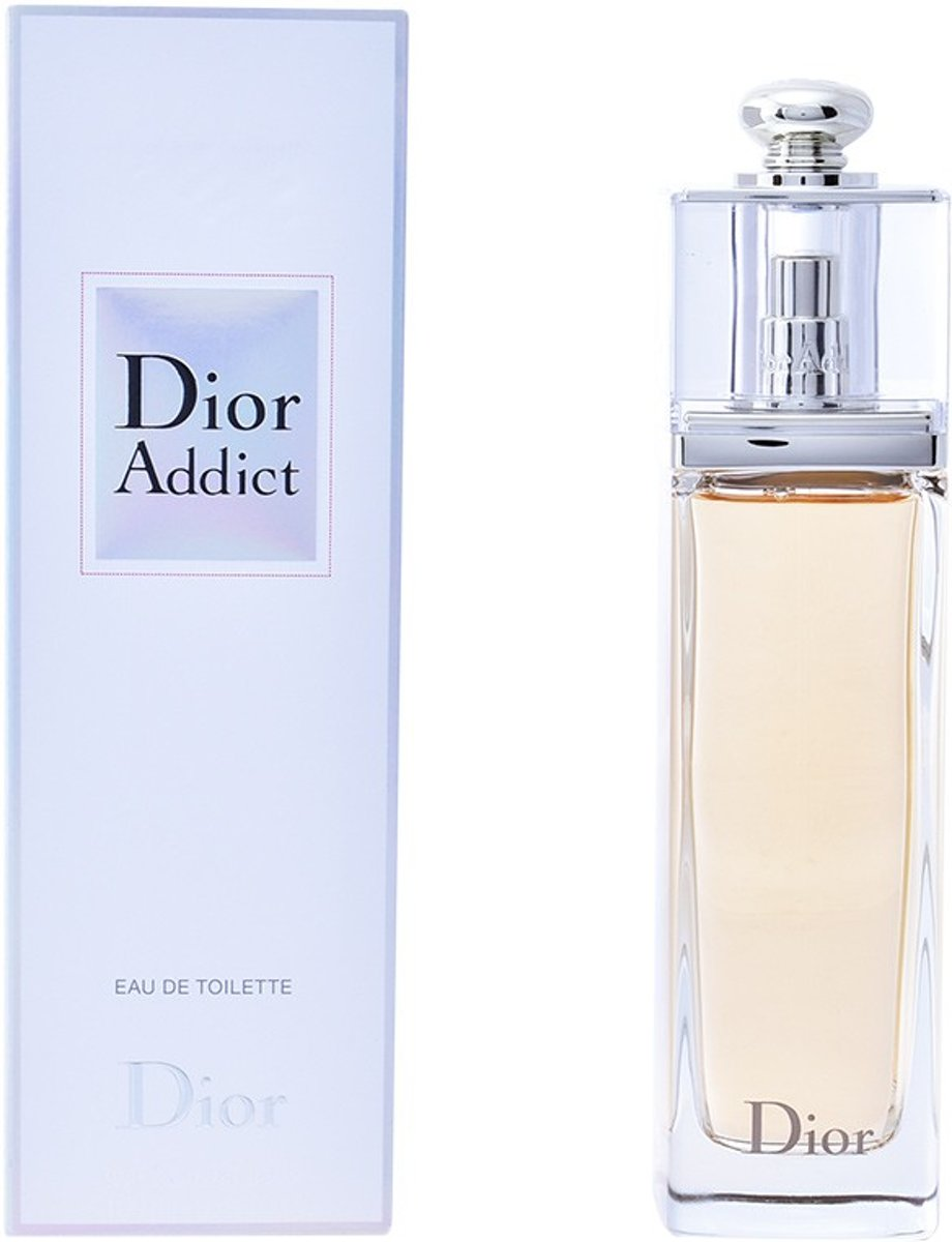 MULTI BUNDEL 2 stuks DIOR ADDICT Eau de Toilette Spray 100 ml