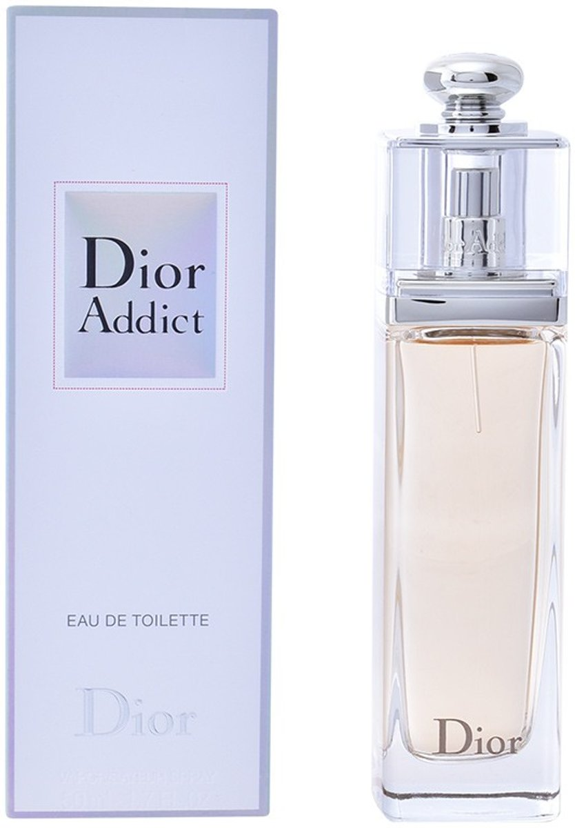 MULTI BUNDEL 2 stuks DIOR ADDICT Eau de Toilette Spray 50 ml