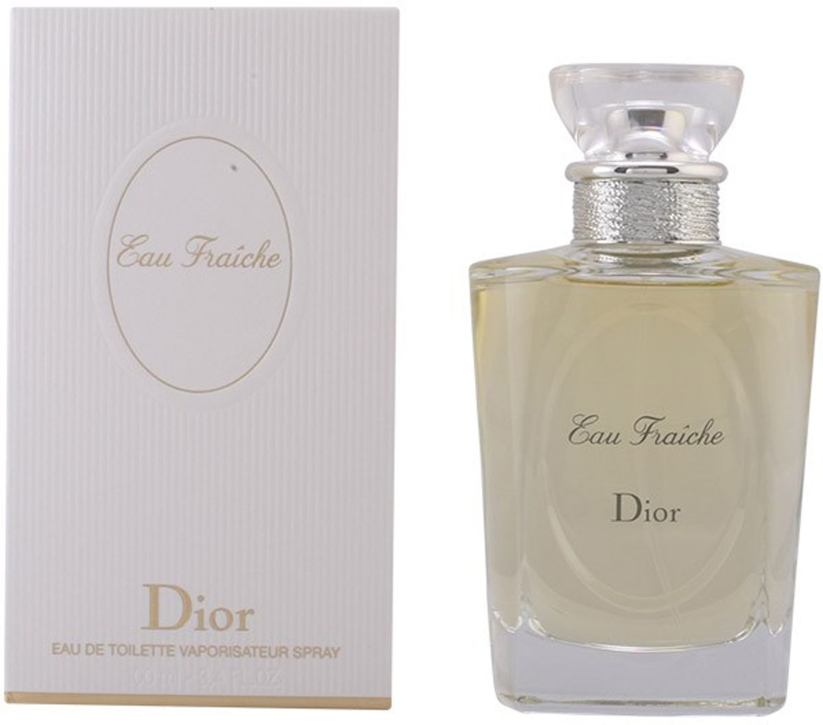 MULTI BUNDEL 2 stuks DIOR EAU FRAICHE Eau de Toilette Spray 100 ml