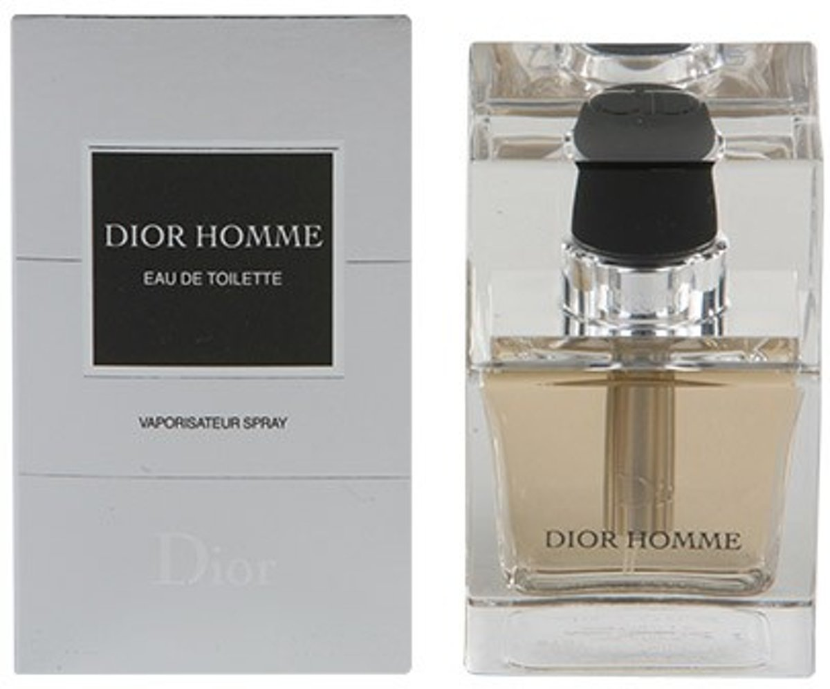 MULTI BUNDEL 2 stuks DIOR HOMME Eau de Toilette Spray 50 ml