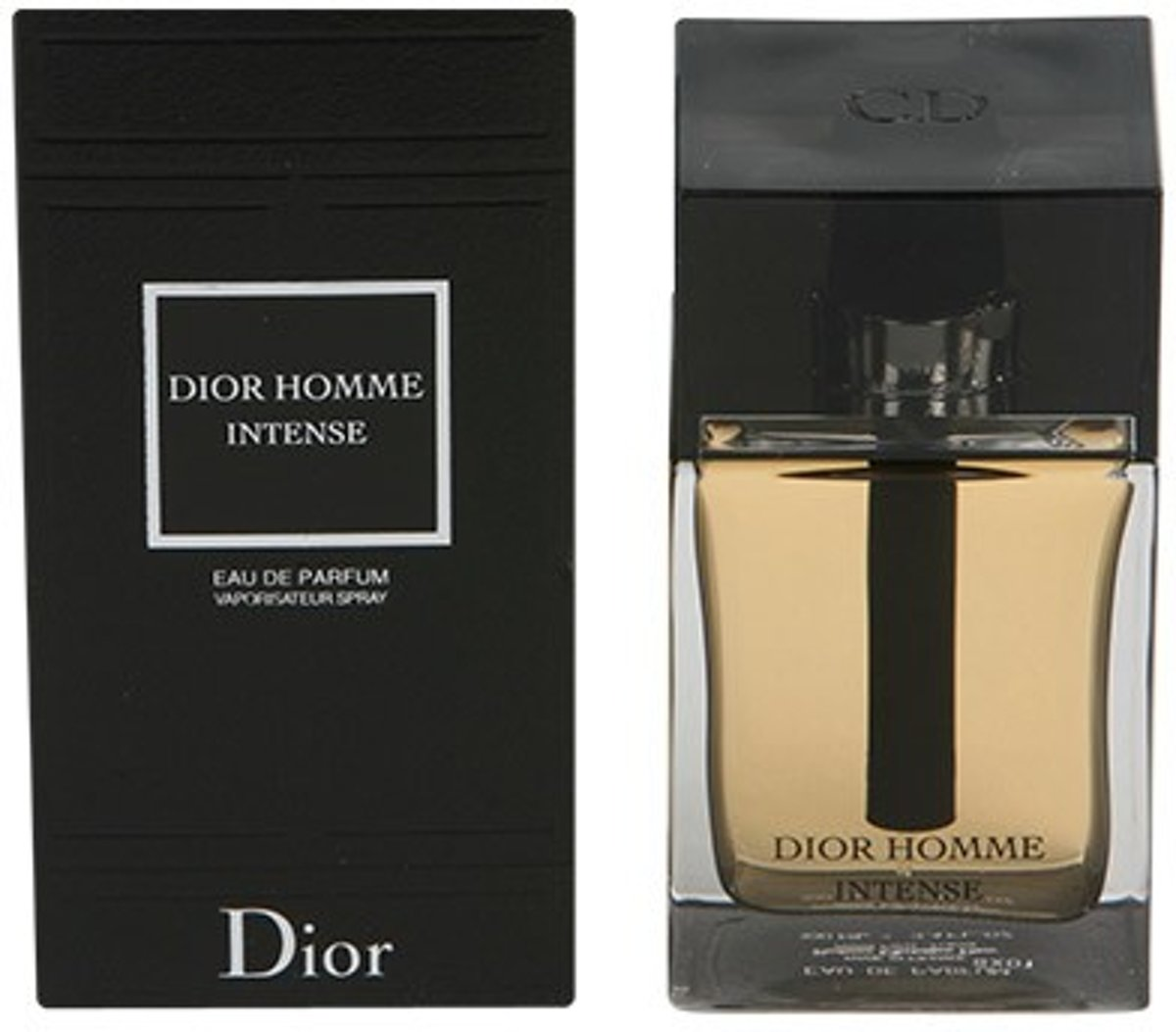 MULTI BUNDEL 2 stuks DIOR HOMME INTENSE Eau de Perfume Spray 100 ml