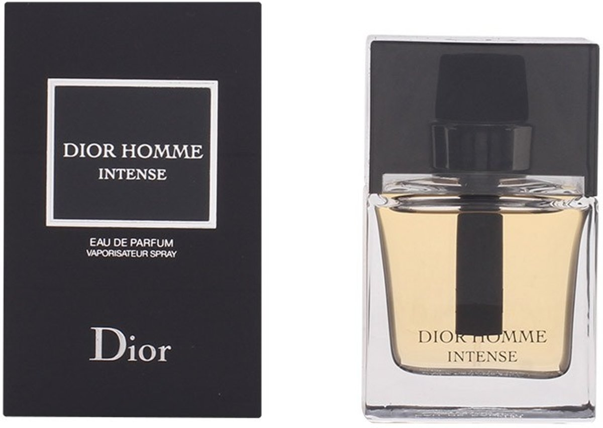 MULTI BUNDEL 2 stuks DIOR HOMME INTENSE Eau de Perfume Spray 50 ml