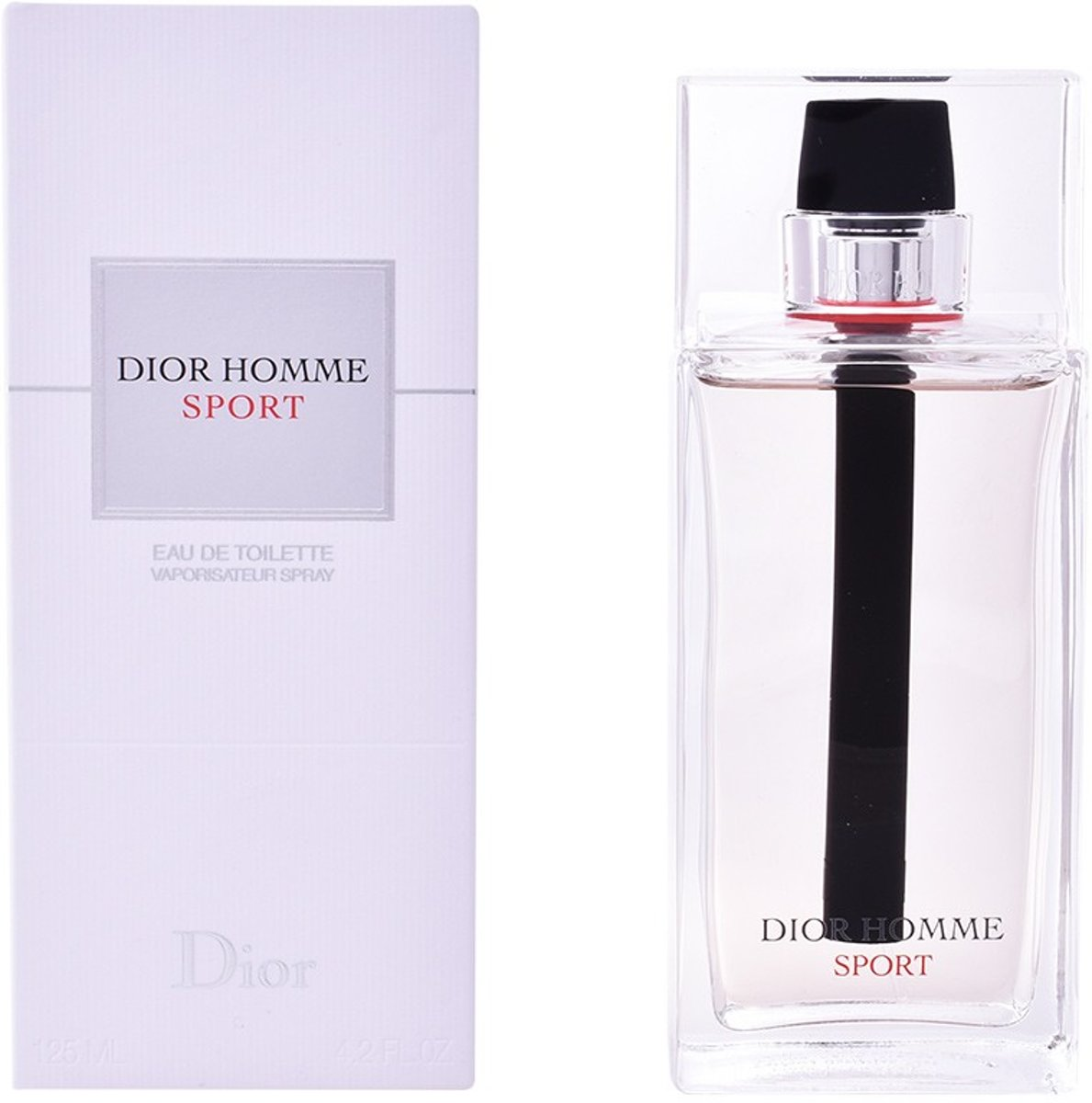 MULTI BUNDEL 2 stuks DIOR HOMME SPORT Eau de Toilette Spray 125 ml