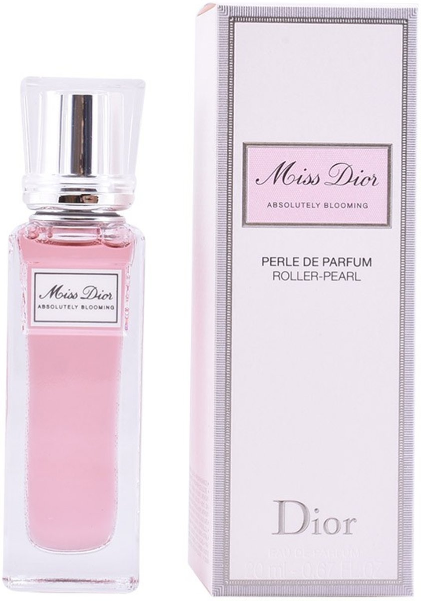 MULTI BUNDEL 2 stuks MISS DIOR ABSOLUTELY BLOOMING roller pearl Eau de Perfume 20 ml