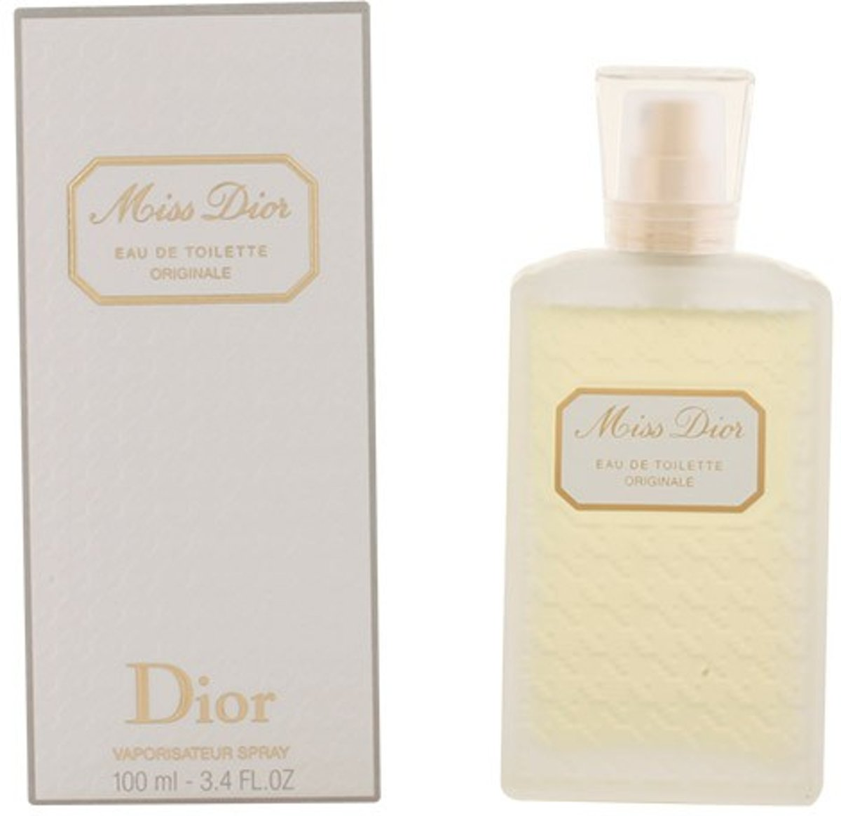 MULTI BUNDEL 2 stuks MISS DIOR Eau de Toilette originale Spray 100 ml