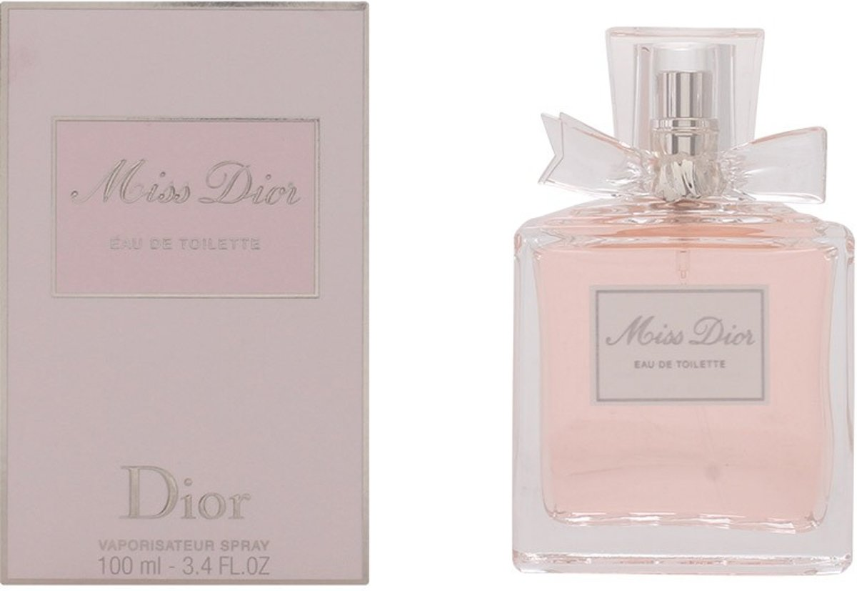 MULTI BUNDEL 2 stuks MISS DIOR eau de toilette spray 100 ml