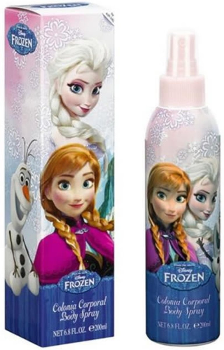 MULTI BUNDEL 3 stuks Disney Frozen Eau De Cologne Spray 200ml