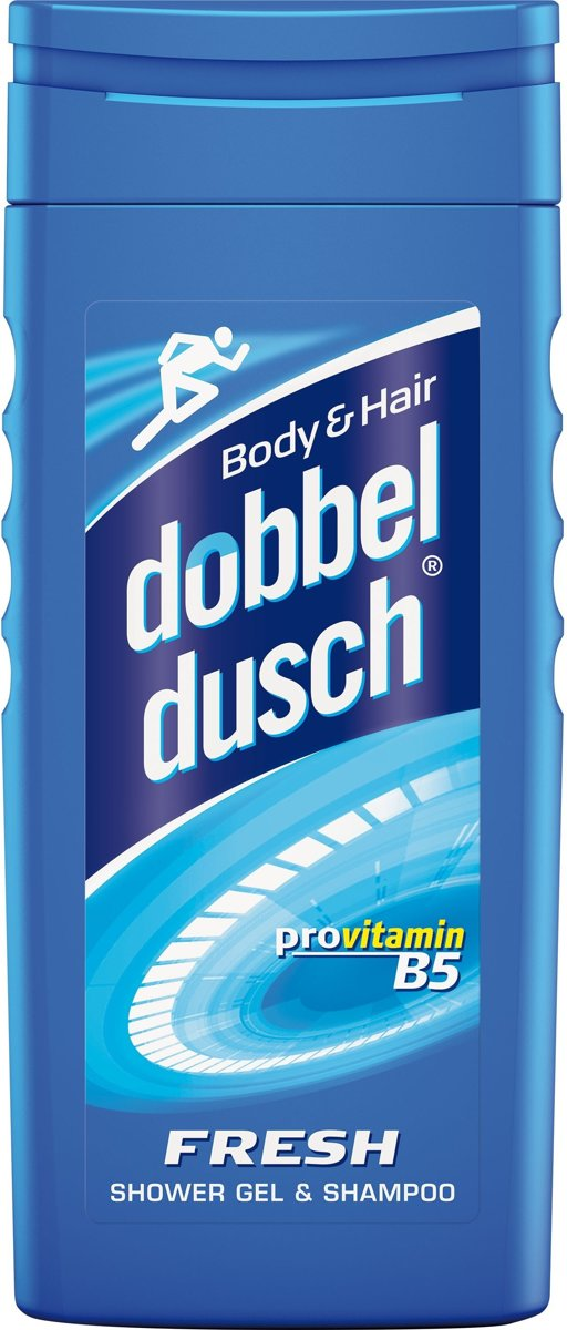 Dobbeldusch Fresh Douchegel & Shampoo– 250 ml