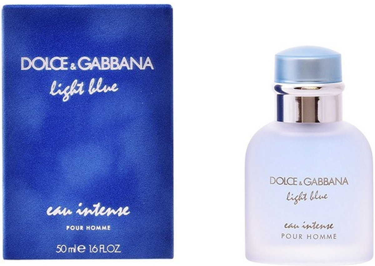 D&G Light Blue Eau Intense Pour Homme Edp Spray 50 ml
