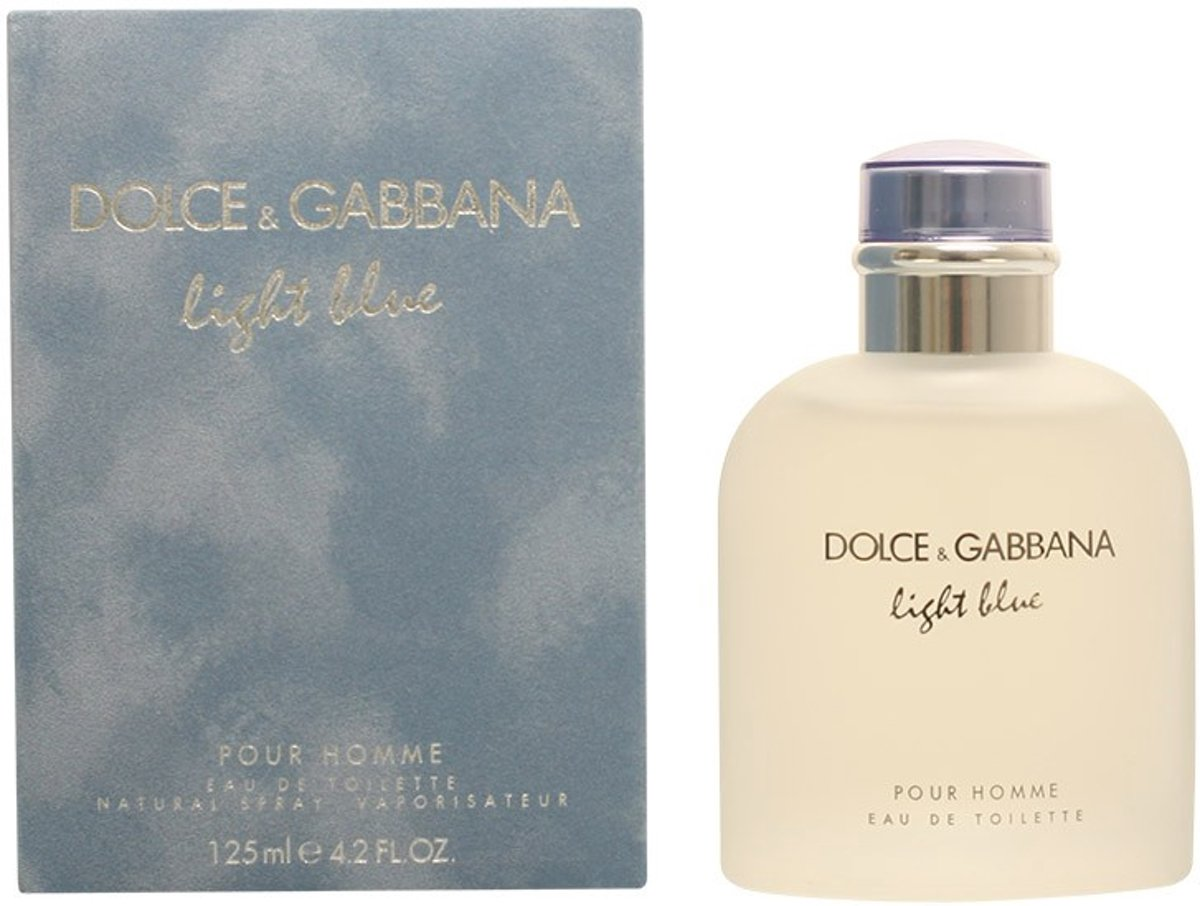 Dolce & Gabbana - LIGHT BLUE HOMME - eau de toilette - spray 125 ml