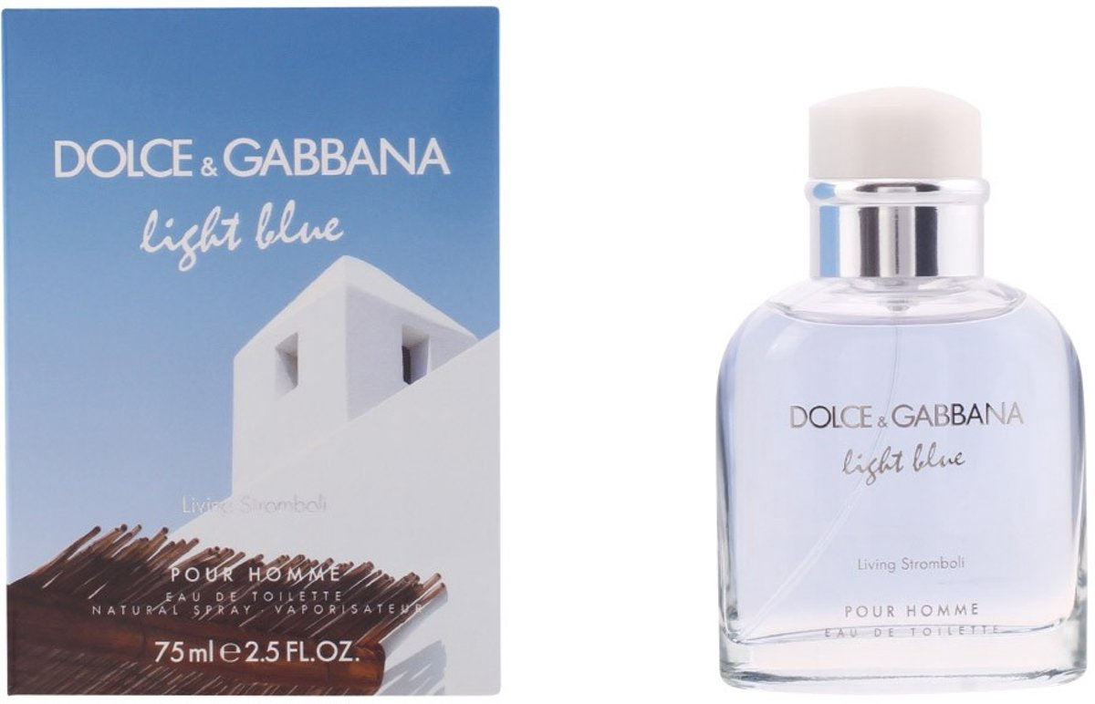 Dolce & Gabbana - LIGHT BLUE HOMME STROMBOLI - eau de toilette - spray 75 ml