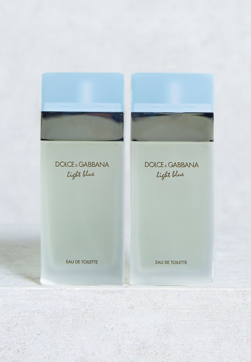 Dolce & Gabbana - Light Blue - Travel Edition - 2 x 50 ml - Eau De Toilette Spray - Voor Dames