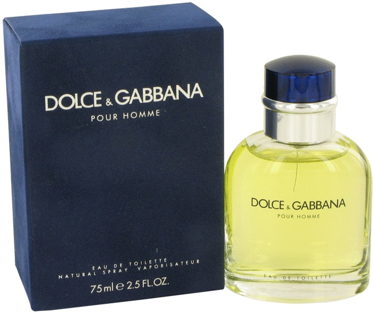 Dolce & Gabbana 75 ml - Eau De Toilette Spray Men