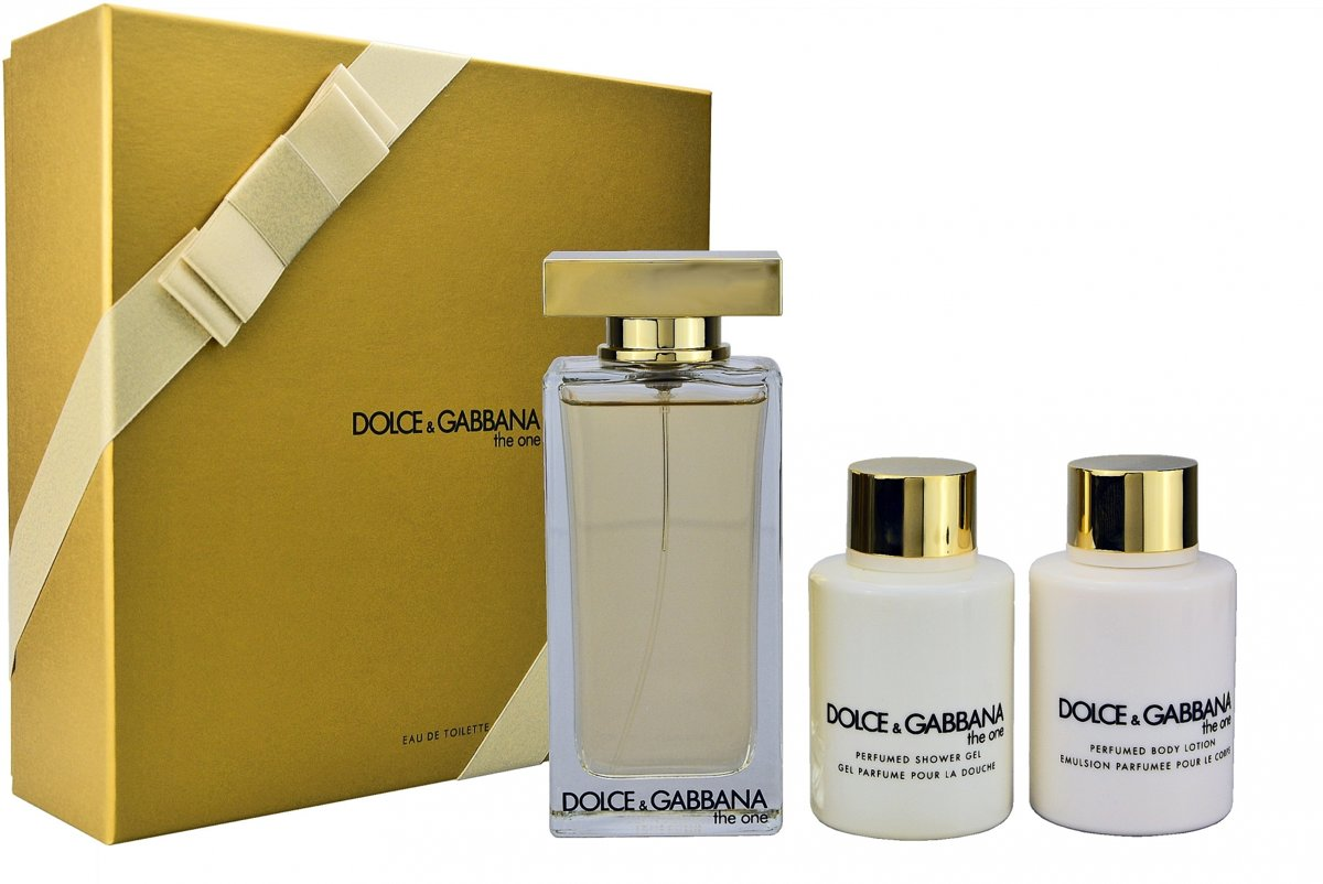 Dolce & Gabbana Dolce & Gabbana - Eau de toilette - The one 100ml eau de toilette + 100ml showergel + 100ml bodylotion - Gifts ml