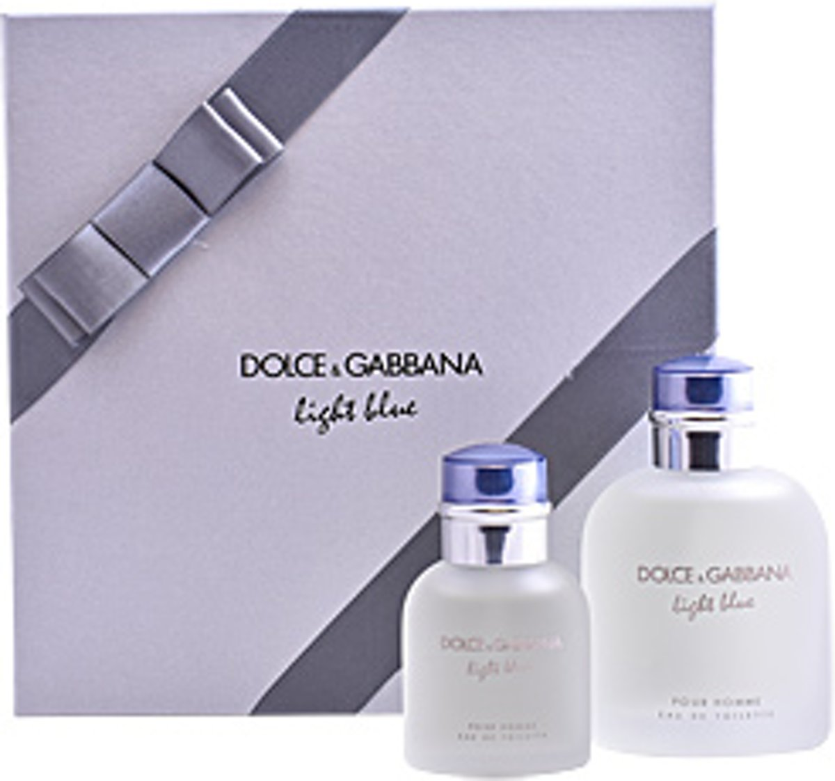 Dolce & Gabbana LIGHT BLUE POUR HOMME LOTE edt vapo 125 ml + edt vapo 40 ml