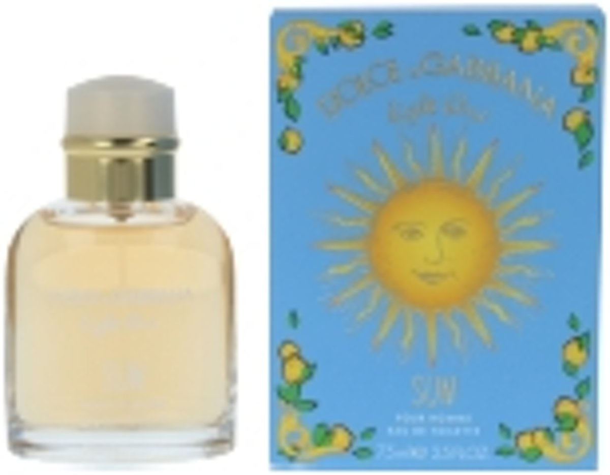 Dolce & Gabbana LIGHT BLUE SUN POUR HOMME edt spray 75 ml