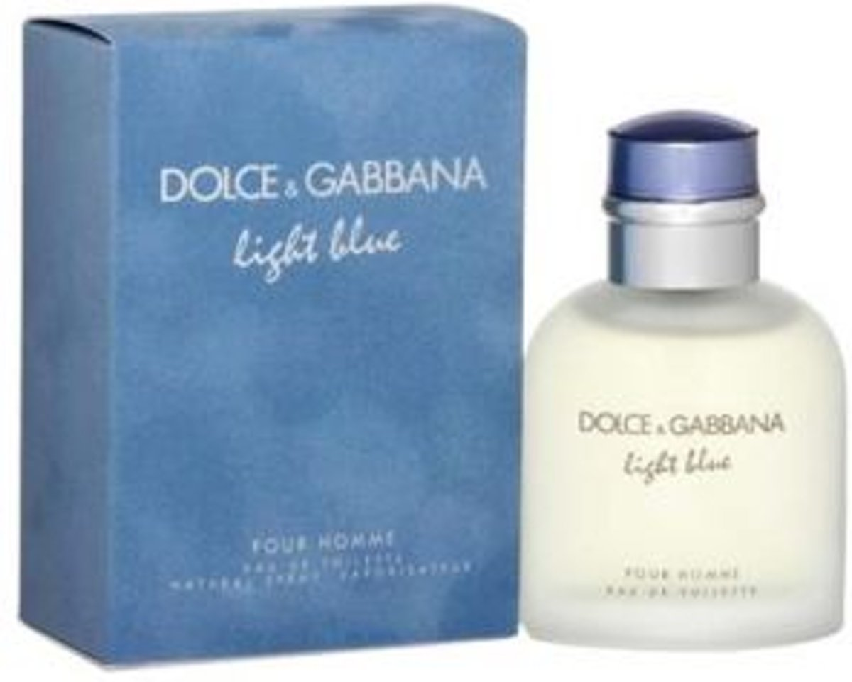 Dolce & Gabbana Light Blue Beauty of Capri pour Homme 75ml Eau de Toilette