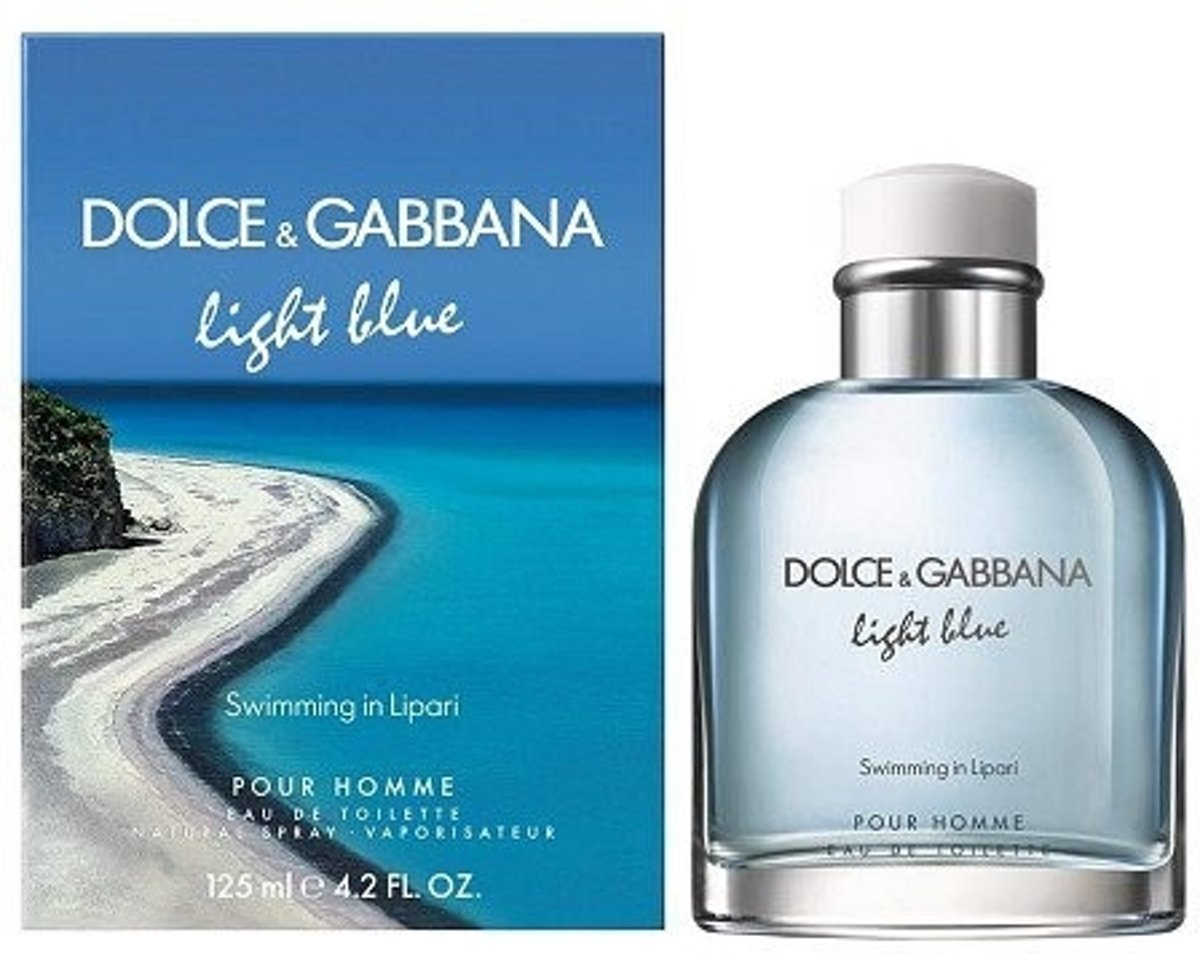 Dolce & Gabbana Light Blue Swimming In Lipari Pour Homme EDT 40 ml