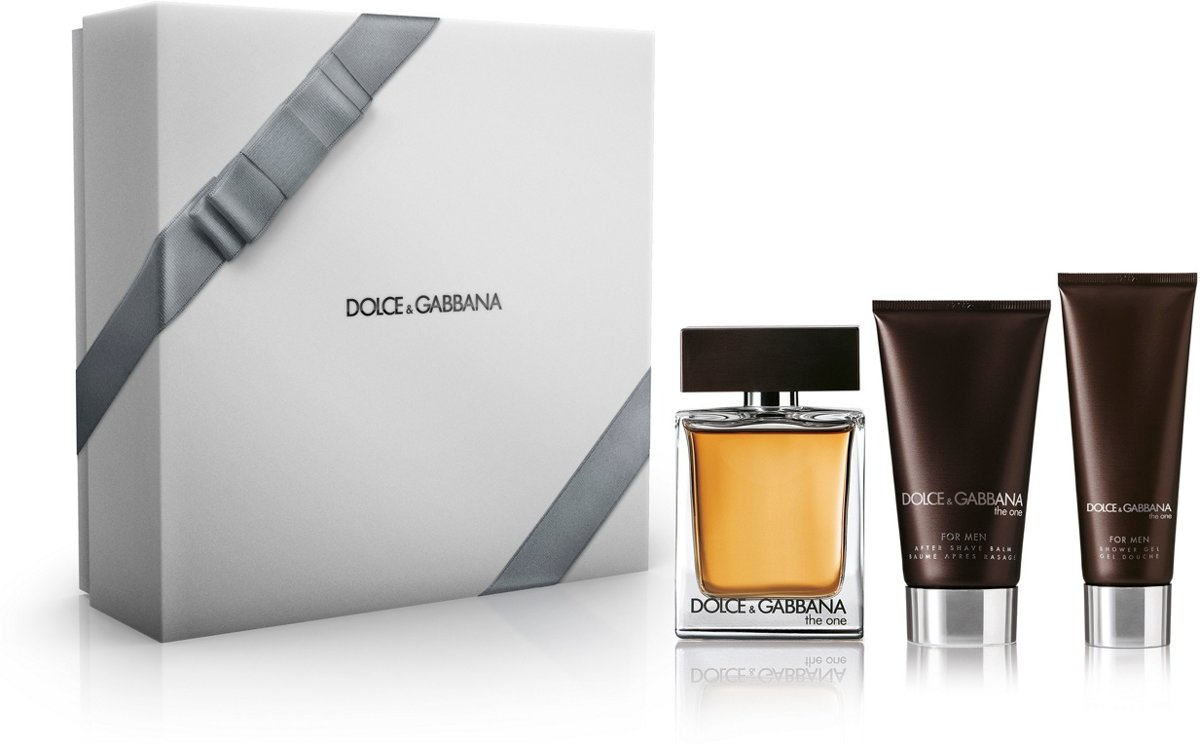 Dolce & Gabbana The One for Men - 3 delig - Geschenkset