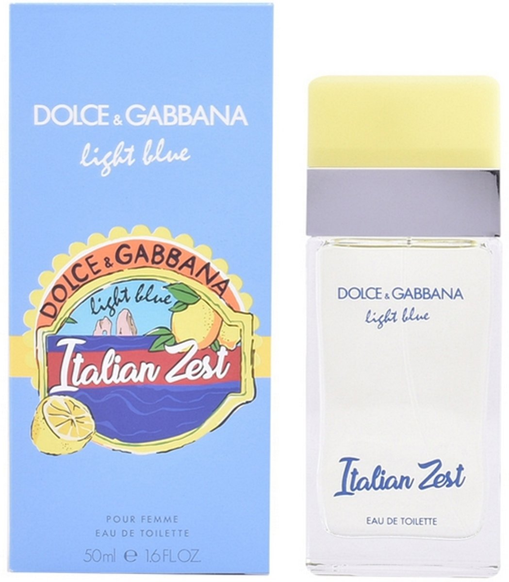 Dolce & Gabbana. Light Blue Italian Zest Eau de Toilette Spray 100 ml