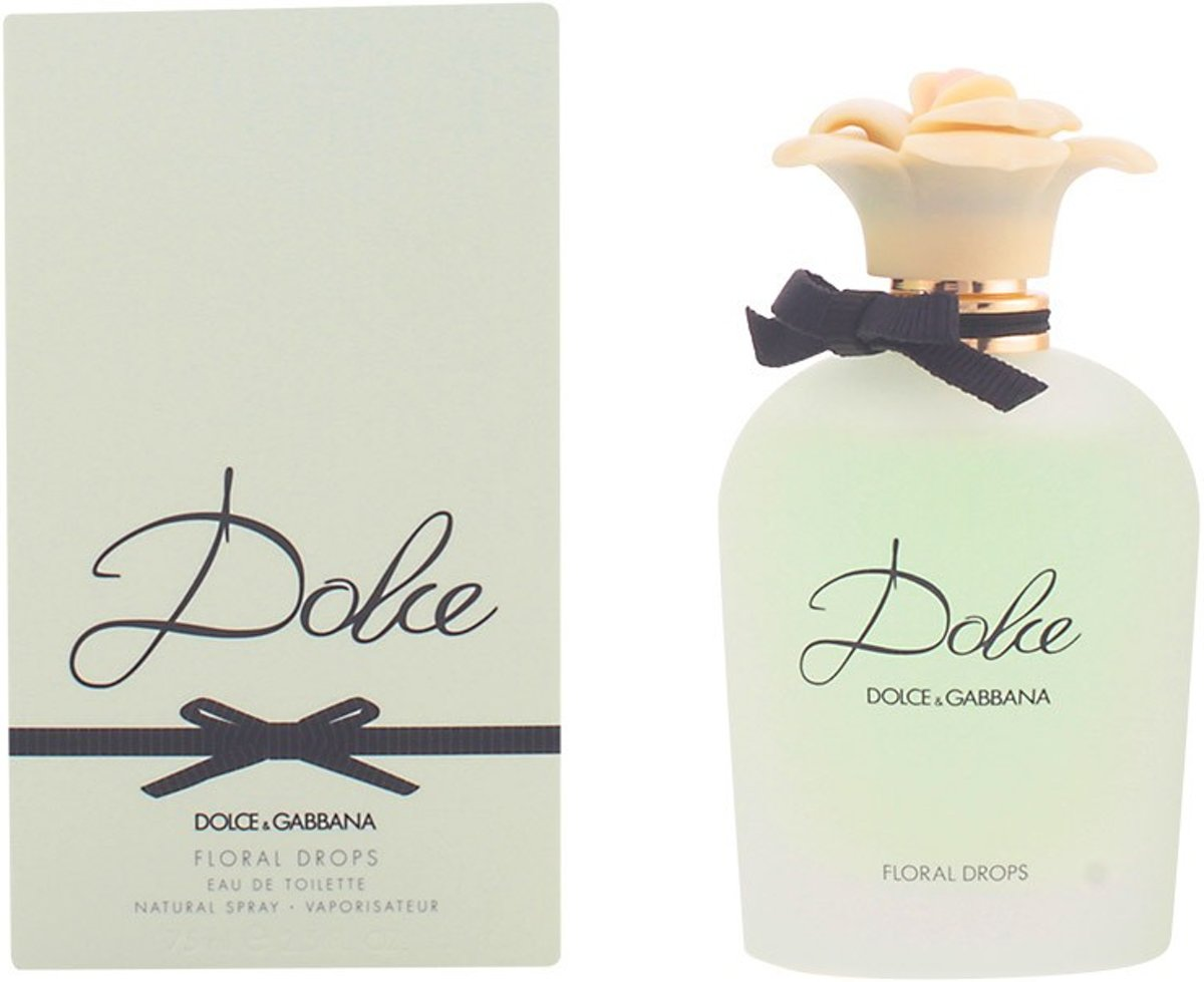 MULTI BUNDEL 2 stuks DOLCE FLORAL DROPS Eau de Toilette Spray 75 ml