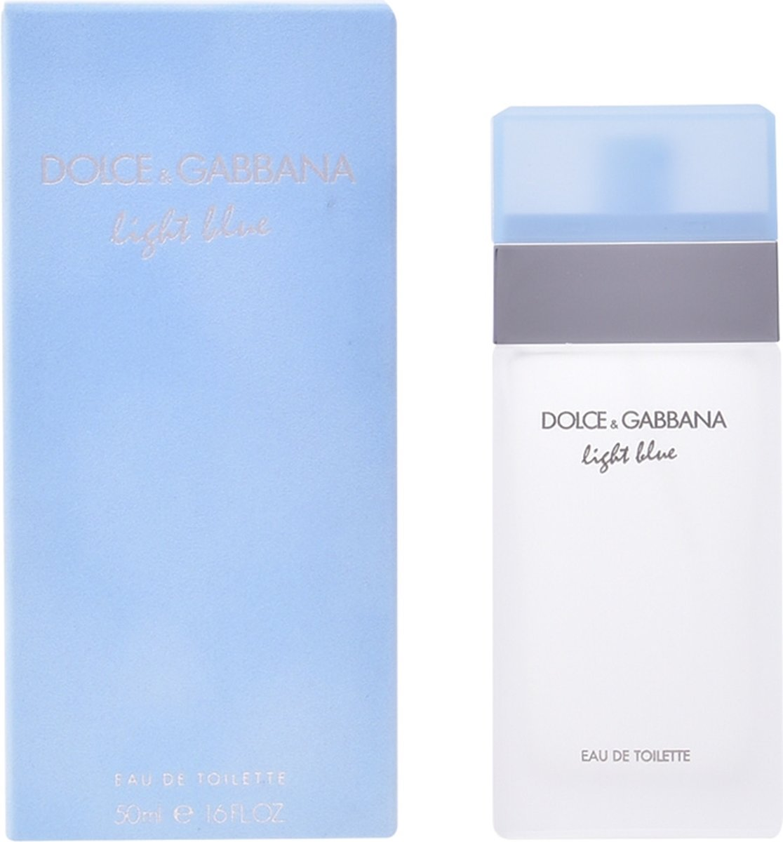 MULTI BUNDEL 2 stuks Dolce and Gabbana Light Blue Eau De Toilette Spray 50ml