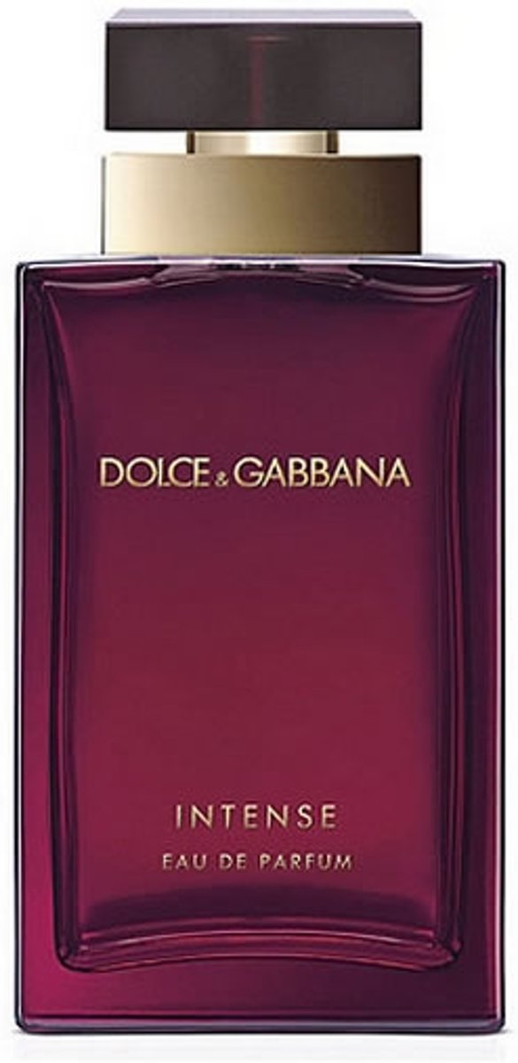 MULTI BUNDEL 3 stuks Dolce and Gabbana For Women Intense Eau De Perfume Spray 25ml