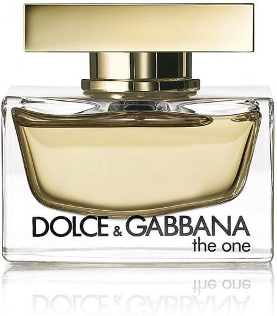 MULTI BUNDEL 3 stuks Dolce and Gabbana The One Eau De Perfume Spray 75ml