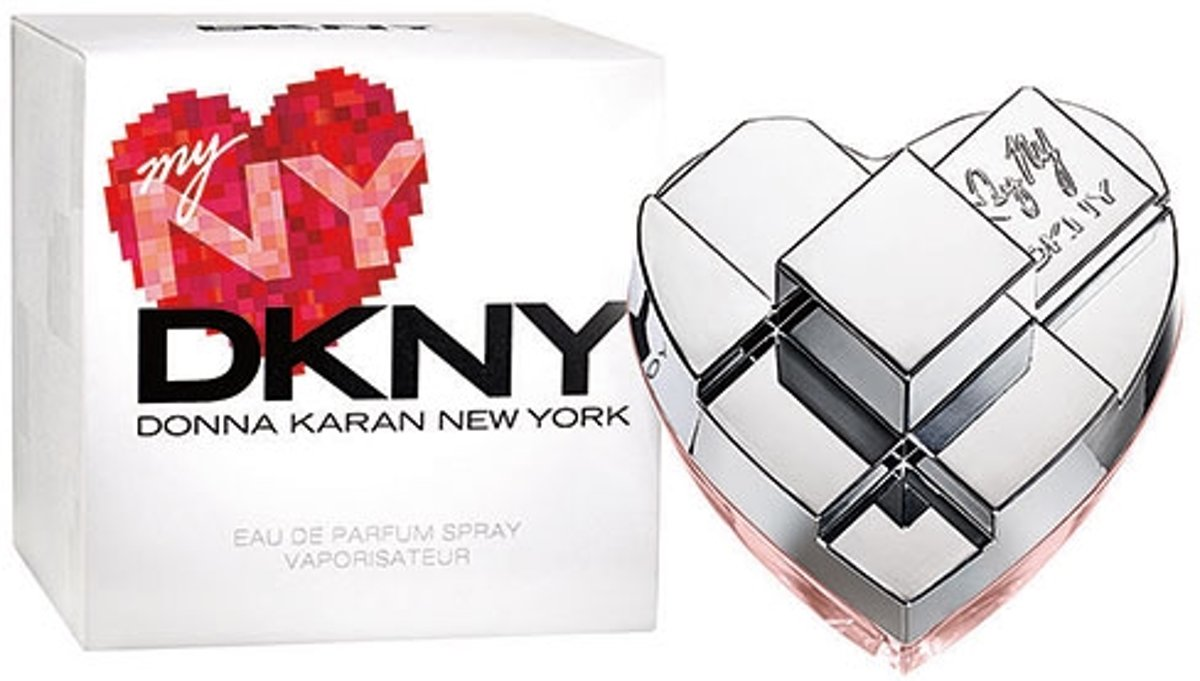 MULTI BUNDEL 2 stuks Donna Karan My Ny Dkny Eau De Perfume Spray 50ml