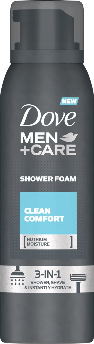 Dove Men + Care Clean Comfort Shower Foam - 200 ml