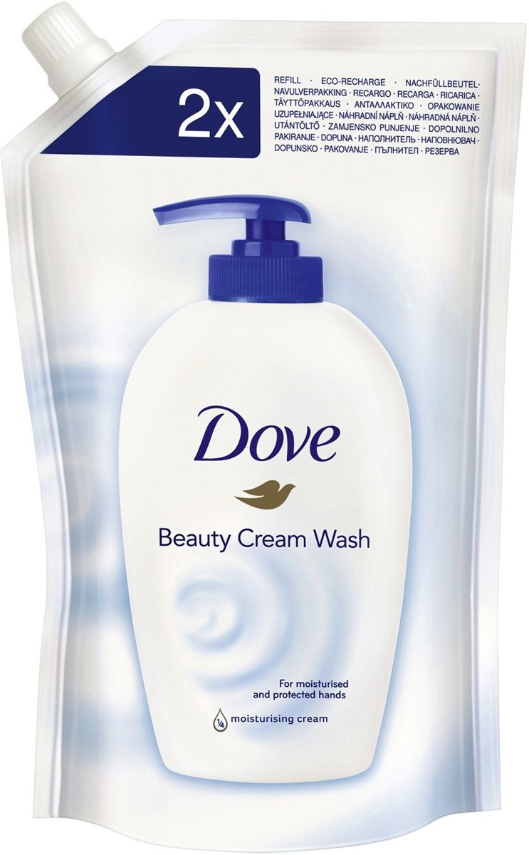6 stuks Dove Beauty Cream Wash 500 ml - Handzeep