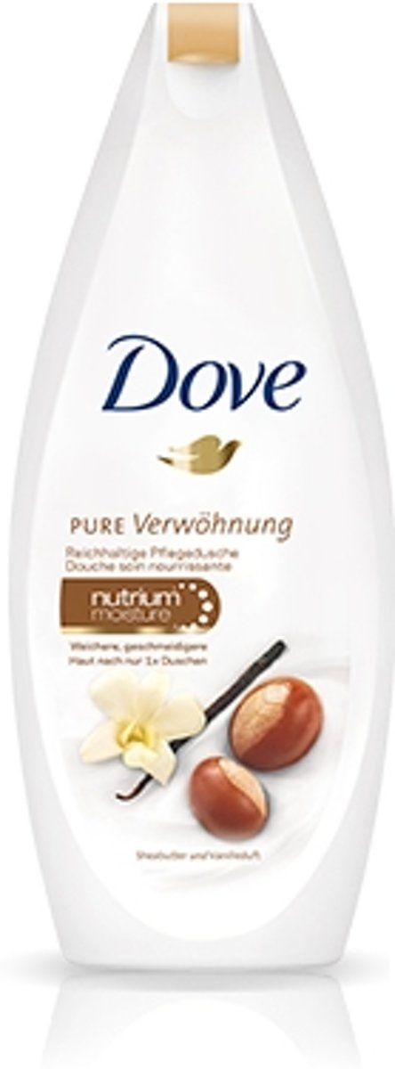 Dove 9028432 Vrouwen Vanille 250ml douchegel